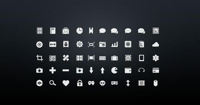 Simplycons Icon Set