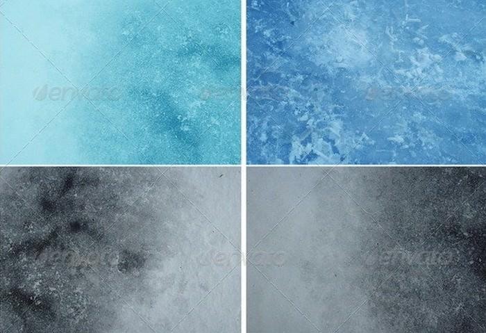 Snow-ice Textures