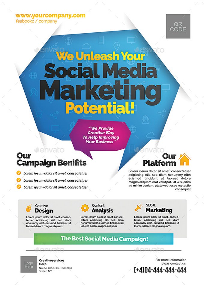 Social Media Campaign Flyer Templates