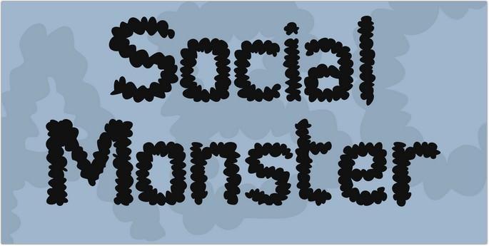 Social Monster Font