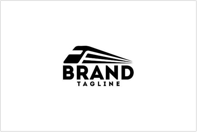 Speed Train Logo Design