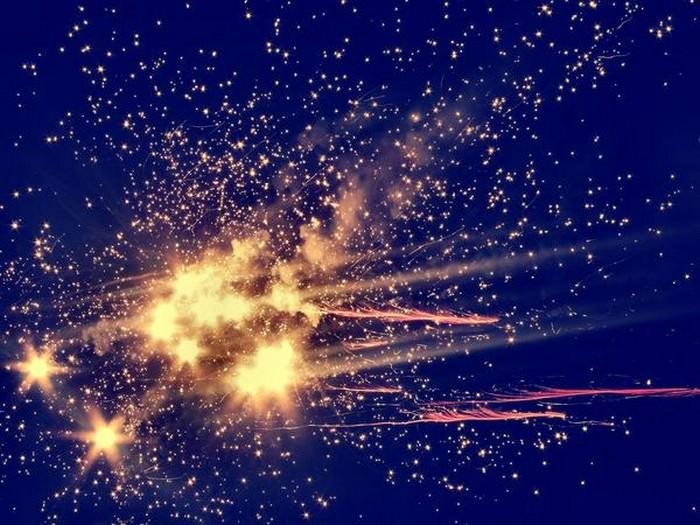 Stars Blue Orange