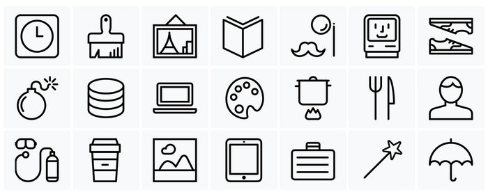 Streamline icon Set Free Pack