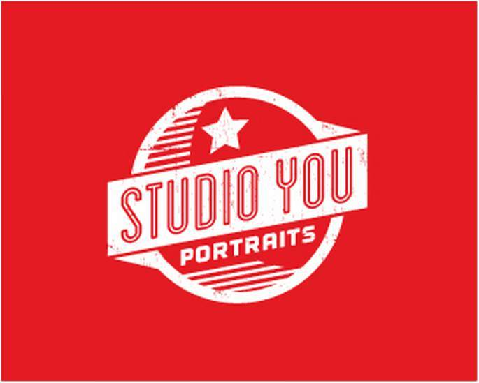 Portraits Retro Logo