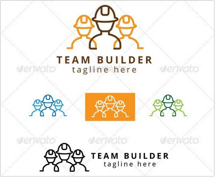 Team Construction Builder Logo
