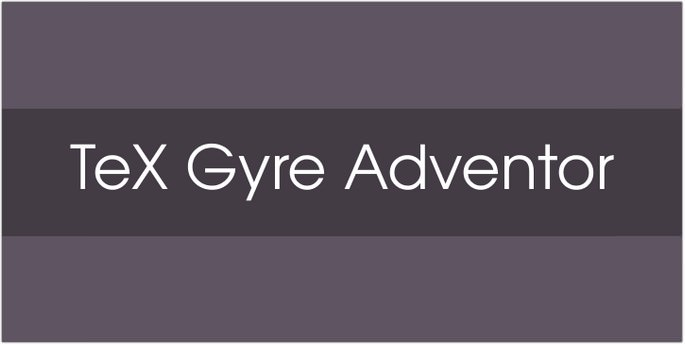 Tex Gyre Adventor