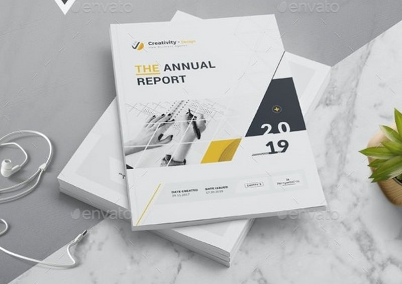 The Annual Report InDesign or Microsoft Word