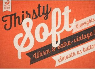 Thirsty Soft Cursive Font