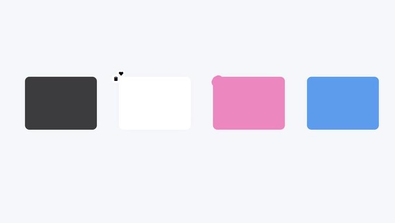 Tile Hover Multi-Button
