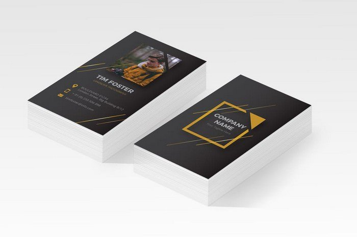 Tim Foster Photography Business Card