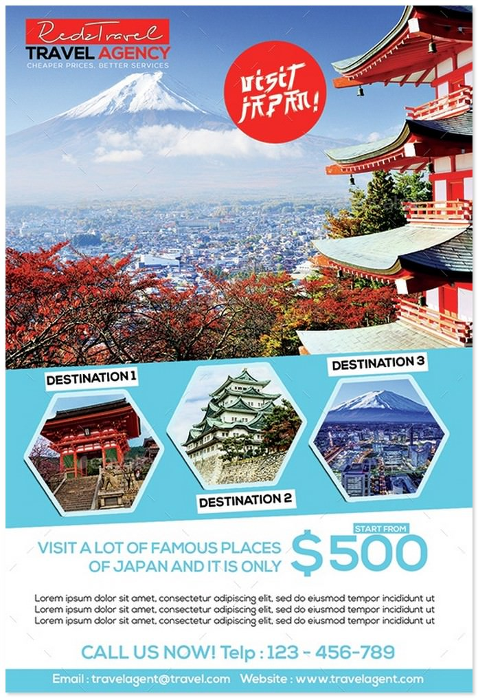 Travel Advertising Flyer