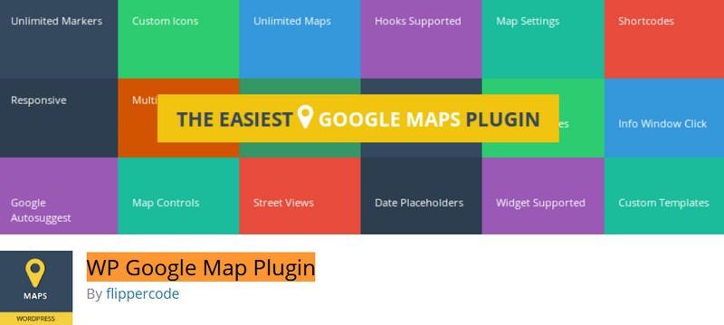 WP Google Map Plugin (Free)