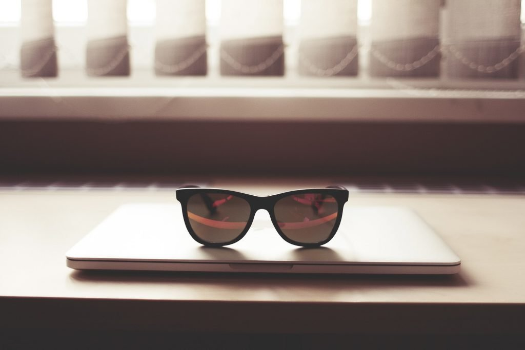 Goggle hipster background