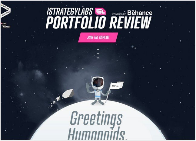 islreview Parallax Scrolling Website Design