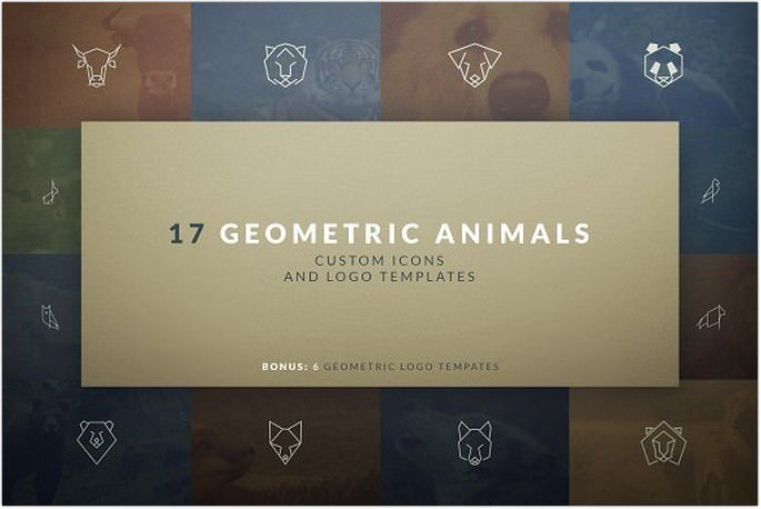 Geometric Animal Icons and Logos