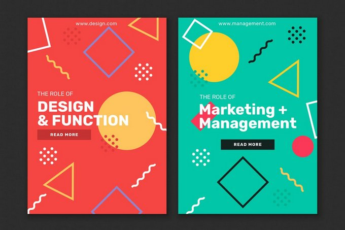 2 X Marketing Flyer Template