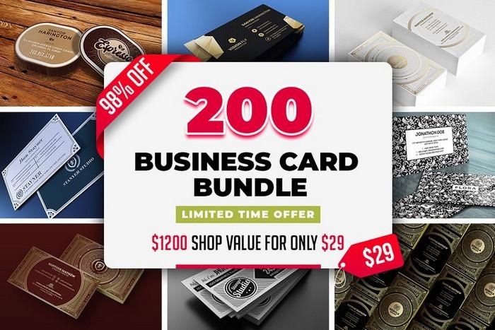 200 Business Card Bundle