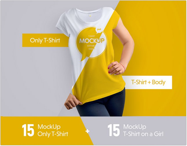 Mock-Ups T-Shirt