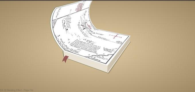 3D Page Flip