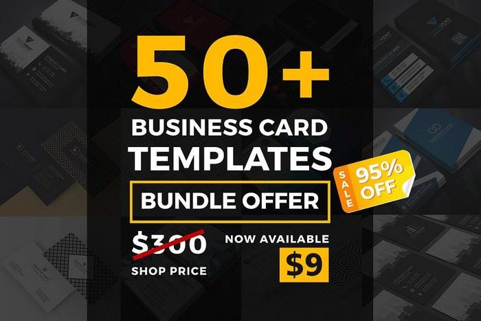 50 Mega Business Card Bundle