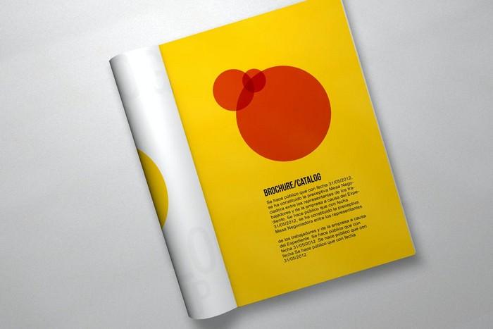 6 Brochure Mockup