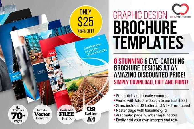 8 x Professional Brochures