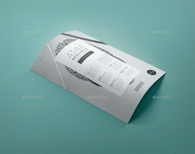 A4 Realistic Paper