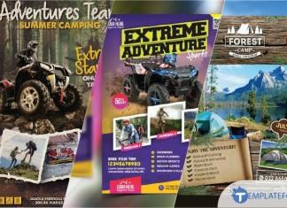 Adventure Flyer Templates