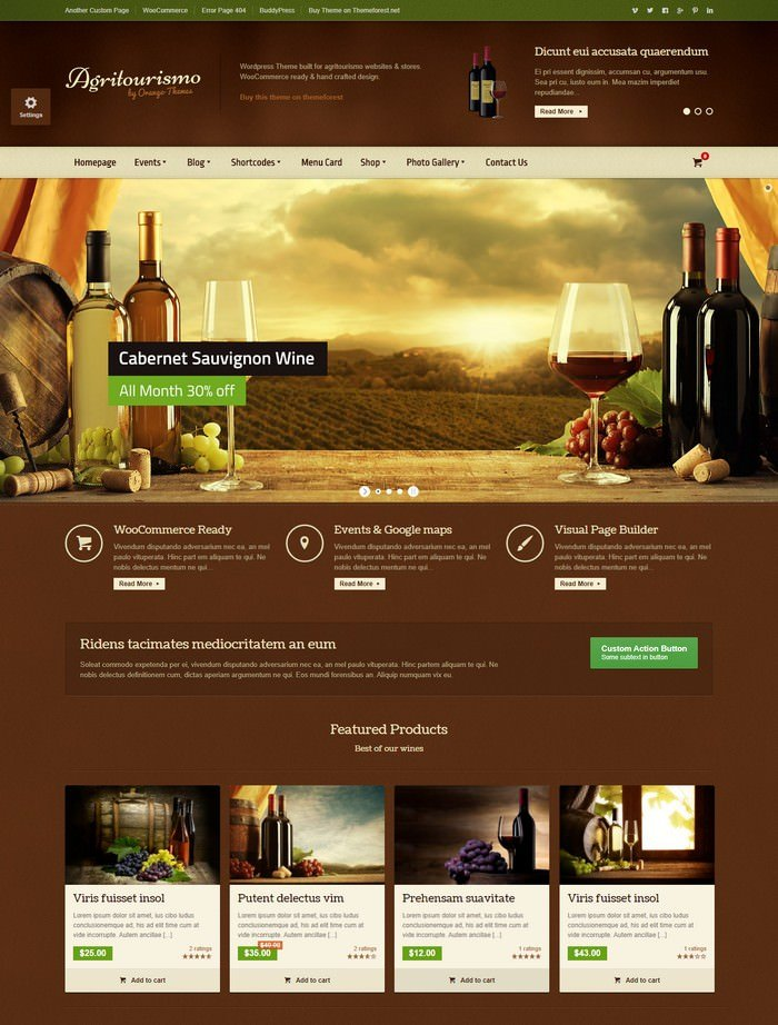 AgriTourismo – Responsive WooCommerce Theme