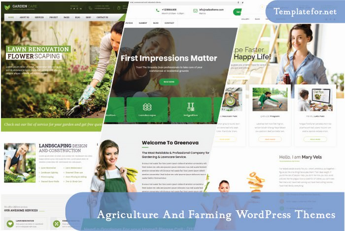 Agriculture And Farming WordPress Theme