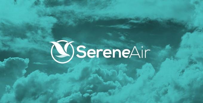 Airline Branding Serene Air