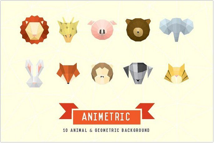 Animetric Vector Logo