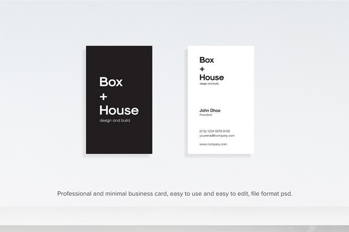 Architect Design Business Card