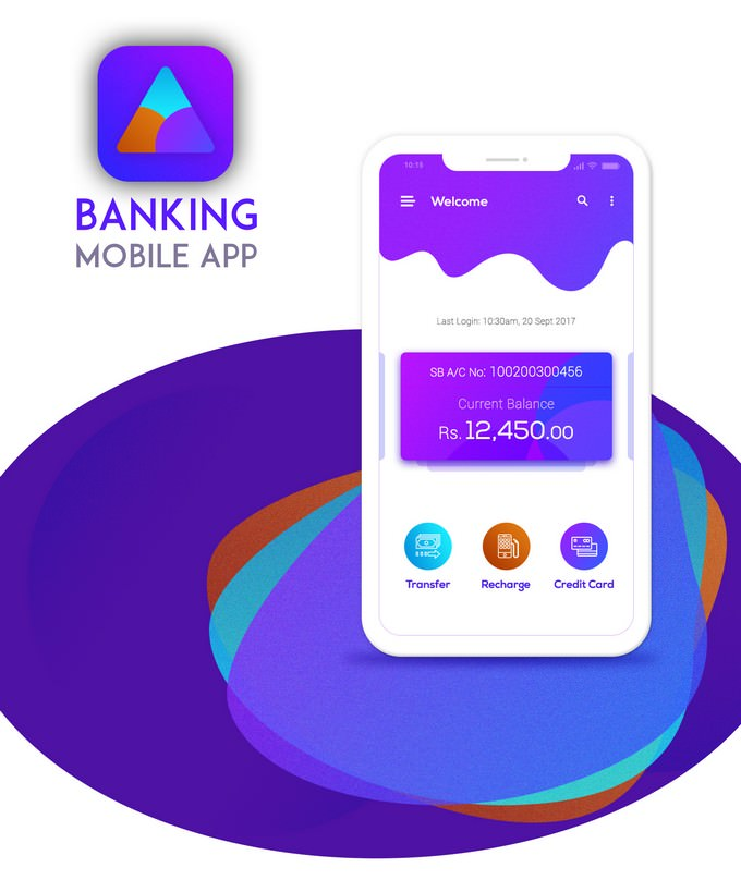 Banking Mobile App - UI/UX Design