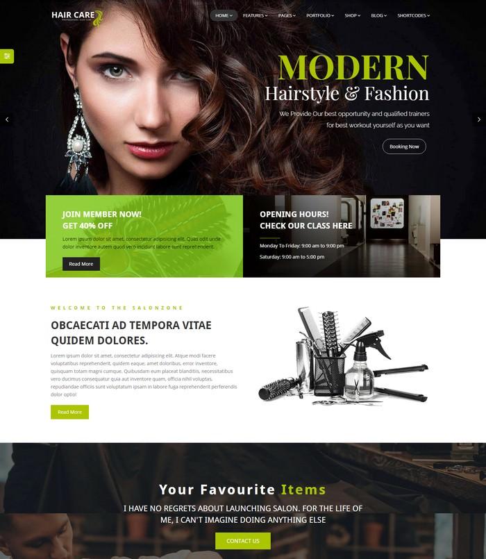 Beauty Salon & Barber