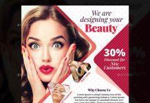 Beauty Salon Flyer Template