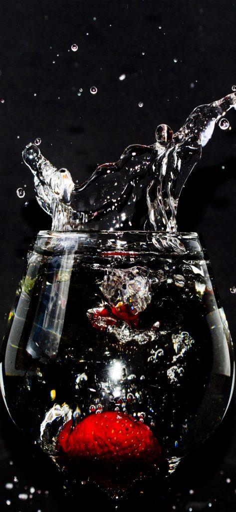 Black iPhone Wallpaper Fish Pot