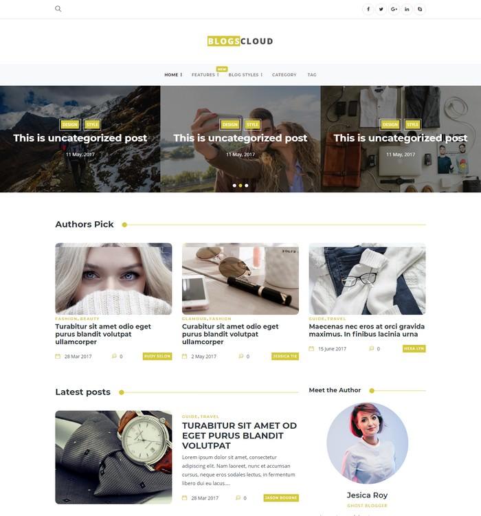 Blogscloud