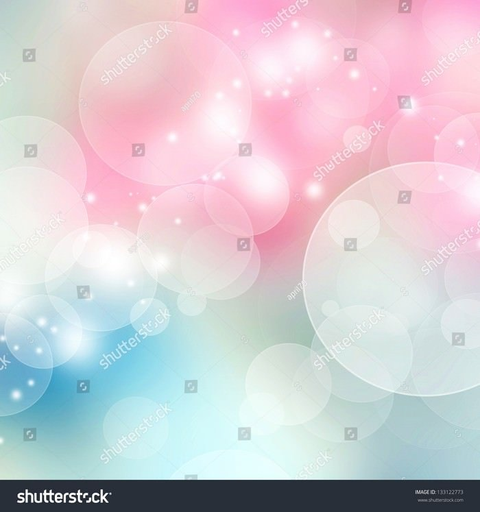 Blue and Pink Pastel Color Bokeh Background