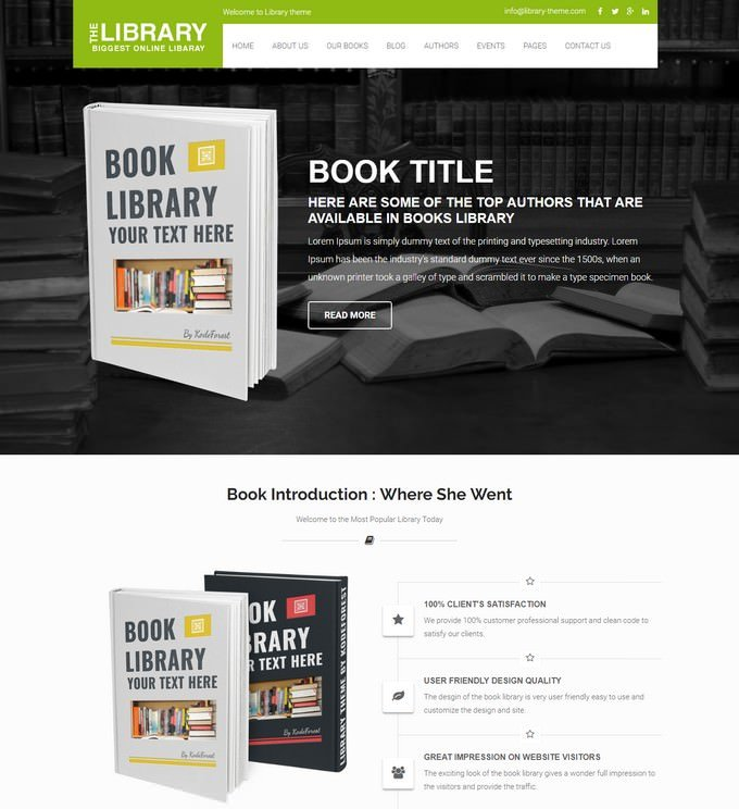 Book Guide - Books Library eCommerce Store