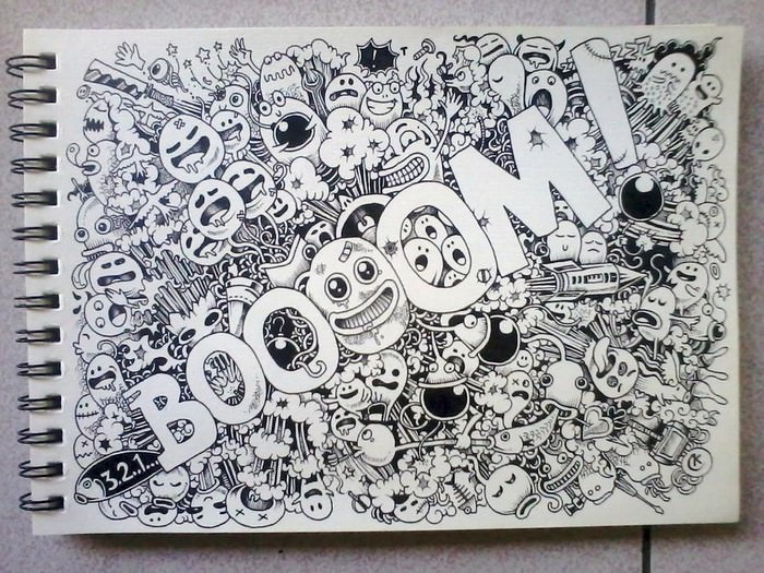 Booom! Doodles