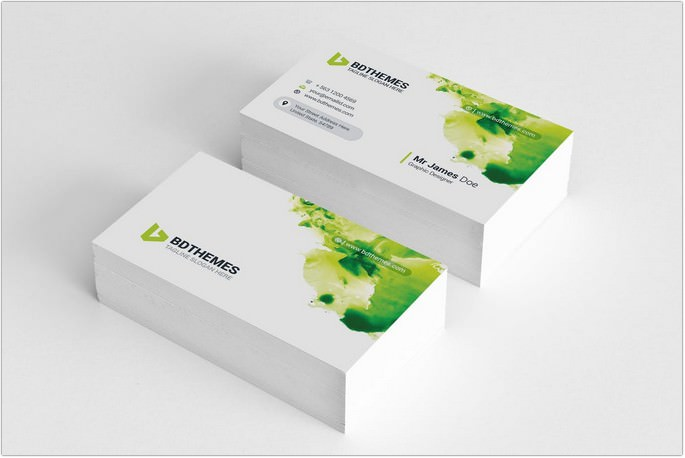 corporate office Visiting Card Template