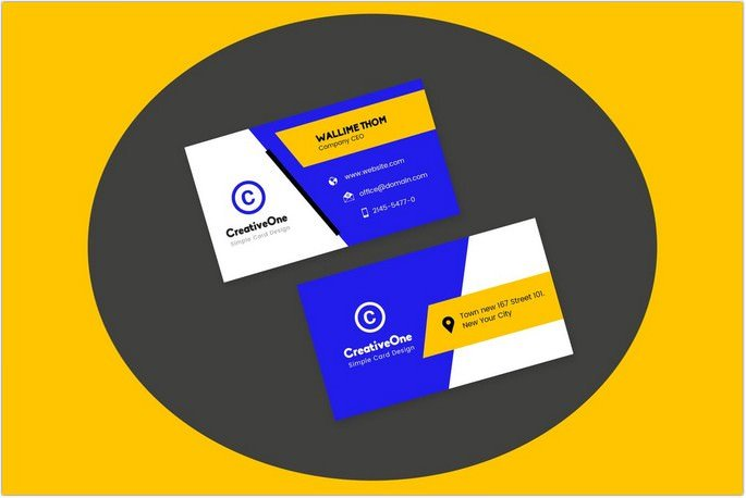 Awesome Visiting Cards Design