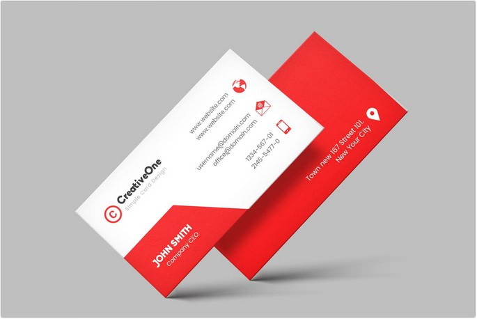 Visiting Cards Design Template