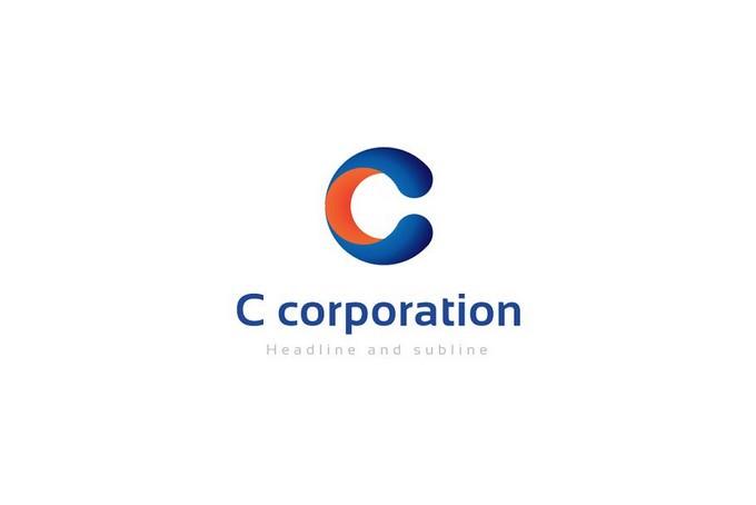 C corporation Logo
