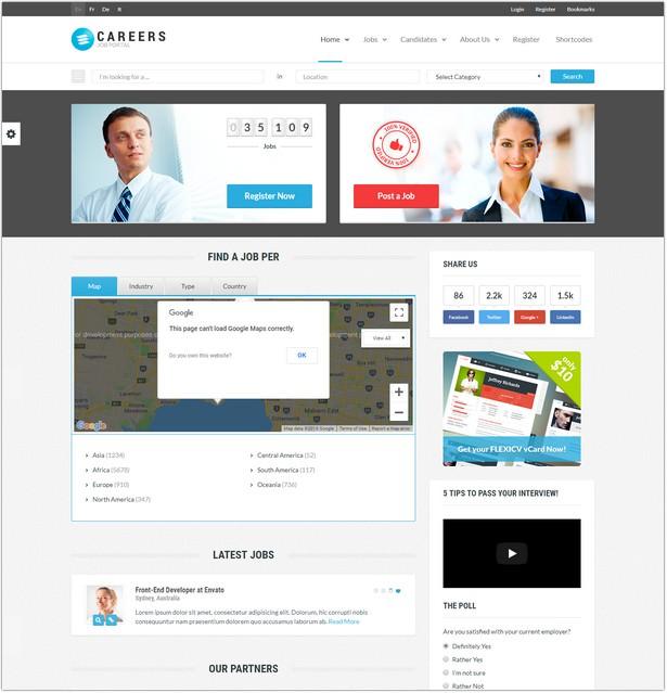 Job Portal & Candidate Database