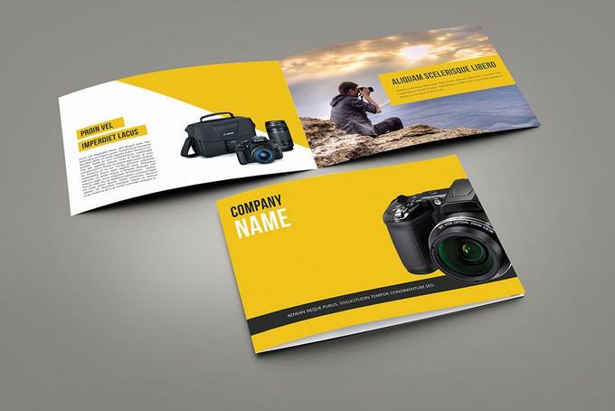 Camera Catalog Template Free