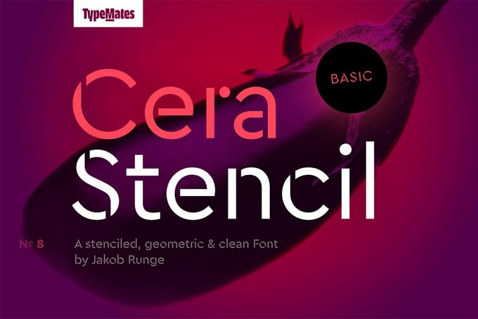 Cera Stencil Basic Regular