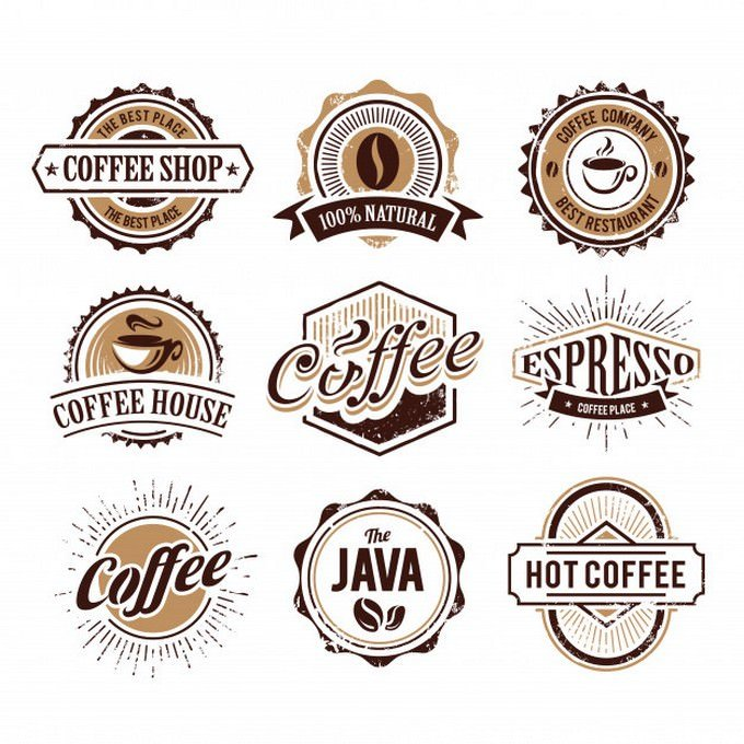 Coffee Logo Collection Free