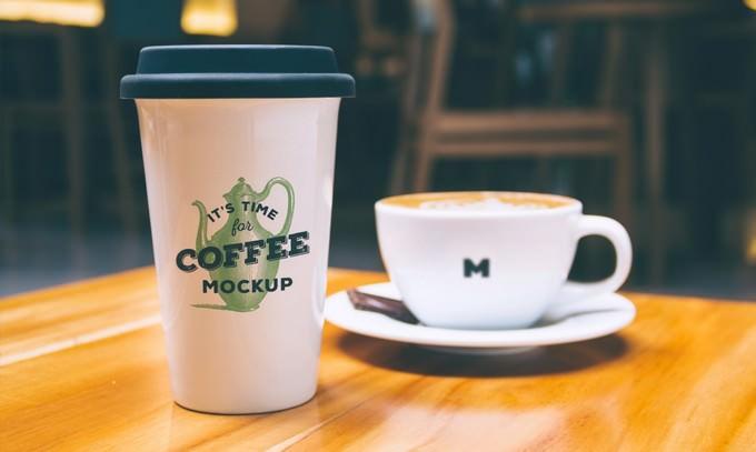 Coffee Mug and Cup